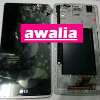 Jual LCD TOUCHSCREEN FRAME LG G4 STYLUS H540 COMPLETE Murah
