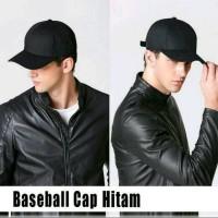 topi baseball pria / topi dewasa polos