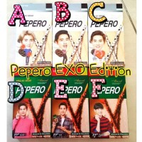 Jual Pepero EXO 1pc + 2 official Pepero photocard Murah