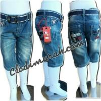 celana jeans denim   size 4 5 & 6   kain melar   celana pendek   levis