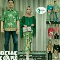 Jual HJ Setelan sarimbit kebaya batik muslim modern BELLE SET LILIT MURAH Murah