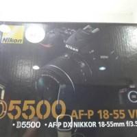 DSLR Nikon D5500 Kit 18-55 AFP VR