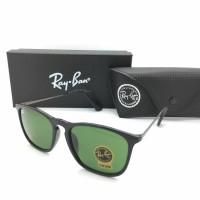 Kacamata Rayban Ray-Ban Crish Cris RB4187 4187 Polarized Hijau Doff