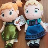 Jual Anna , Elsa plush doll - Original Disney USA Murah