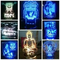 Lampu Hias/Foto Uk 14x14 cm