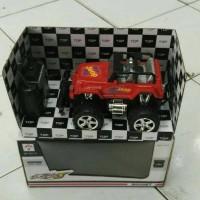 Mainan Mobil RC Jeep / Bigfoot Skala 1:24
