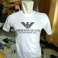 t-shirt/kaos pria/Armani Jeans