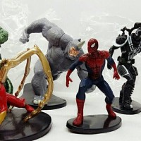 figure spiderman set 6