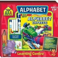 Jual (SZ-LRNC-BOX-ALP)School Zone ALPHABET Learning Center Box Set (Ages Murah