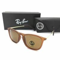 Kacamata Rayban Ray-Ban Crish Cris RB4187 4187 Polarized Coklat