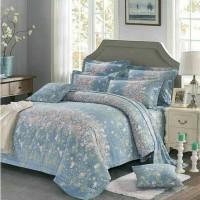 Bed cover set katun jepang Paisley Size 160x200/180x200