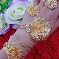 Jual set perhiasan xuping set 21.8 Murah