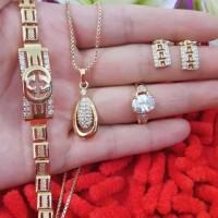 Jual set perhiasan xuping 21.8 Murah