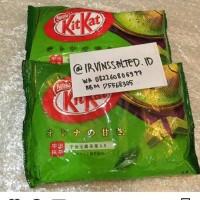 Jual kitkat green tea import japan Murah