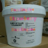 Jual Elmer Dip Glaze Strawberry 5 Kg / Chocomaltine Murah