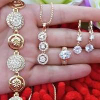 Jual set perhiasan xuping 21.8. Murah