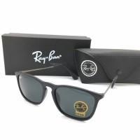 Kacamata Rayban Ray-Ban Crish Cris RB4187 4187 Polarized Hitam Glossy