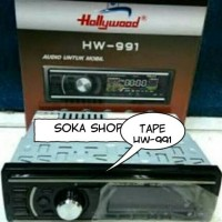 Jual Tape Hollywood HW-991 USB/Radio/SD/MMC Murah