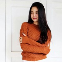 Jual Sweater nanas premium roundhand popcorn Murah