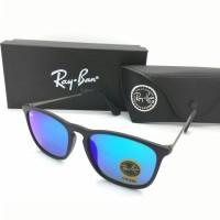Kacamata Rayban Ray-Ban Crish Cris RB4187 4187 Polarized Biru
