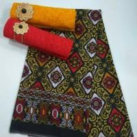 Jual Kain Batik Embos Songket New Bali Ukir Murah