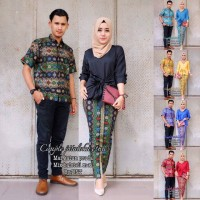 Jual Couple Pitaloka Ethnic - Setelan Couple Batik Murah