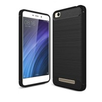 Hard Soft Case Xiaomi Redmi 4A Casing HP IPAKY Carbon Armor Silikon 3D