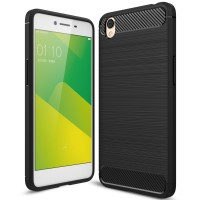 Hard Soft Case Oppo A37 Neo 9 Casing HP IPAKY Carbon Silikon Cover TPU