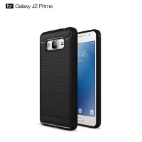 Hard Soft Case Samsung J2 Prime Casing HP IPAKY Carbon Silikon Cover