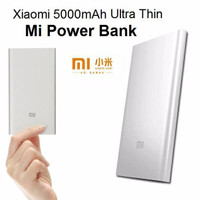 Xiaomi MI SLIM Power Bank 5000 mAh ORIGINAL (no imei bisa cek online)