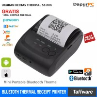 Jual Mini Portable Bluetooth Thermal Receipt Printer [Zjiang ZJ-5802] Murah