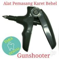 Gunshooter Alat Pasang Karet Behel Gigi Otomotis Penembak