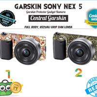 Garskin Kamera Sony Nex 5 - Batik 1