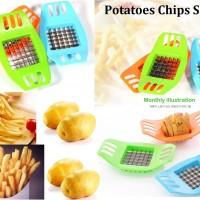 Jual ATO - Potato Cutter / Slicer Chopper French Fries / Pemotong Kentang  Murah