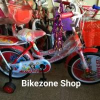 Sepeda mini anak perempuan 16 inch Everbest Model TERBARU