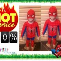 Jual Baju Anak / Stelan / Kostum Spiderman Murah