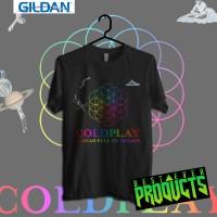 ColdPlay A Head Full Of Dreams Tour Kaos Band Printed In Gildan Shirt