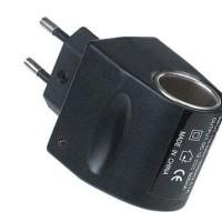 AC to DC Car Charger Cigarette Lighter Converter Socket Diskon