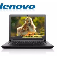 "Lenovo IP 110-14IBR Quad Core N3160 2GB 1TB 14"" LAPTOP MURAH SALE"