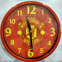 Jual Jam Dinding Sepak Bola Manchester United 1b3bcc0ae6