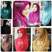Jual Hijab/Jilbab Rumana Kepang Murah Premium Murah