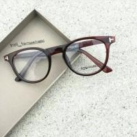 kacamata frame tom pord untuk pria wanita free lensa