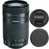 Lensa Kamera Canon EF-S 55-250mm f/4.0-5.6 IS II STM Tele Zoom 55-250