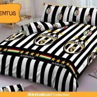Jual Bedcover D'luxe Kintakun ukuran 180 x 200 - Juventus Berkualitas Murah