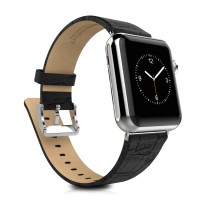 Jual Hoco Bamboo Texture Leather Band for Apple Watch 42mm - PROMO Murah
