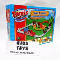 Jual mainan cowok kereta thomas TOMIS AND QUARRY murah Murah