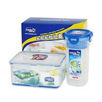 Lock & Lock Gift Set Plastic Food Container with Color Box [2 pcs]
