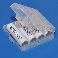 Jual DISKON Battery Holder (Case) / tempat / Pelindung batre Eneloop System Murah