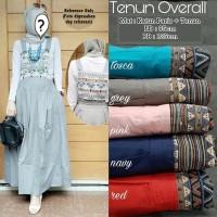 Jual MURAH DRESS MUSLIM OVERAL TENUN/BAJU  GAMIS MUSLIM TERLARIS Murah
