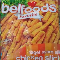 Belfoods Favorit Chicken Nugget Stick / Naget Ayam Stik 500g